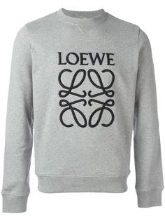 толстовка с вышитым логотипом Loewe
