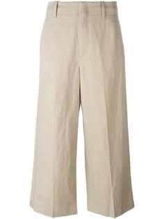укороченные широкие брюки Vince