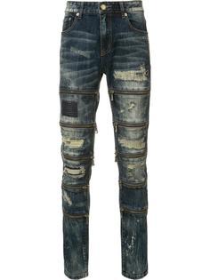 рваные джинсы кроя скинни Gods Masterful Children