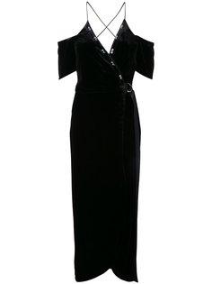 платье с запахом Divine Excess Manning Cartell