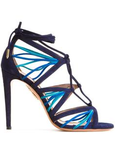 босоножки Aquazzura X Farfetch Very Holli Aquazzura
