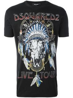 футболка Live Tour  Dsquared2