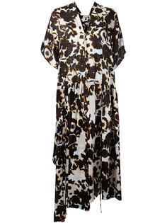 платье с цветочным узором Christian Wijnants