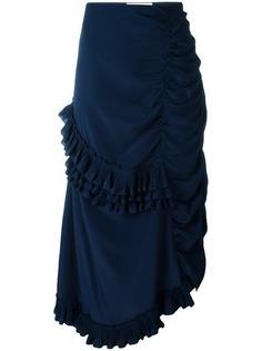 юбка с оборками Marni