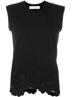 блузка с волнистой отделкой  Victoria Victoria Beckham