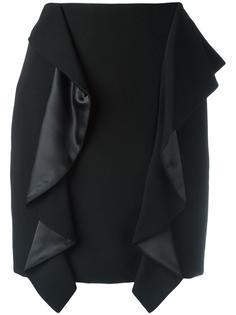 юбка мини с драпировкой Givenchy