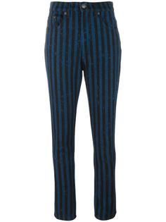 полосатые джинсы Marc Jacobs