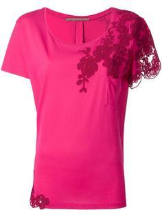 блузка с кружевом Ermanno Scervino