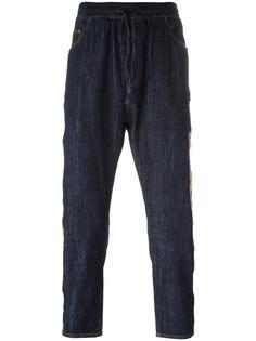 укороченные джинсы кроя слим Palm Angels