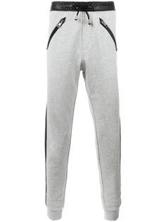 спортивные брюки с полосками сбоку Just Cavalli