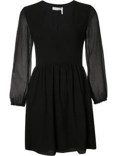 платье из жатой ткани Chloé