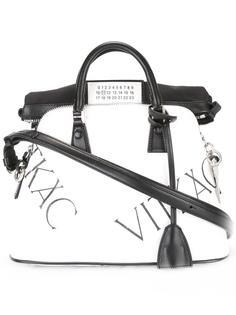 сумка-тоут с принтом логотипа Maison Margiela