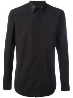 рубашка с декорированным воротником  Givenchy