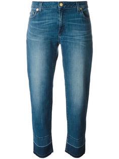 прямые джинсы с необработанными краями Michael Michael Kors