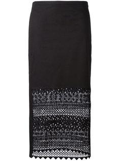 прямая юбка с макраме Nº21