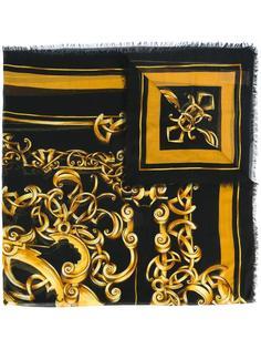шарф с рисунком Barocco Versace