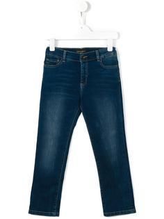 джинсы кроя слим  Dolce & Gabbana Kids