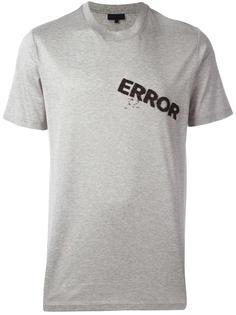 футболка Error  Lanvin