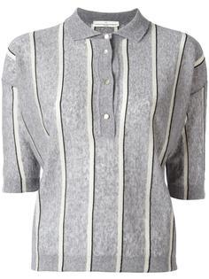 рубашка-поло в полоску Golden Goose Deluxe Brand