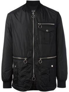 куртка бомбер с молнией Dsquared2