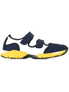 неопреновые кроссовки с застежкой на липучки Marni