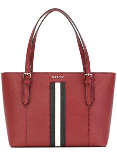 сумка-тоут с контрастными полосками Bally