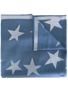 платок с принтом звезд Stella McCartney