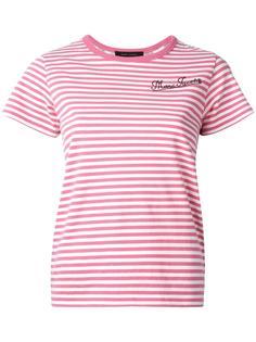 """футболка с принтом дизайна """"пэчворк"""" Marc Jacobs"""