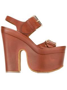 "босоножки ""Cowper"" на массивном каблуке  Stella McCartney"