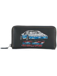 кошелек с блестящей отделкой Coach