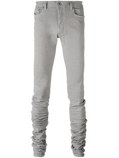 удлиненные брюки скинни  Diesel Black Gold