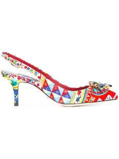 декорированные туфли-лодочки Bellucci  Dolce & Gabbana