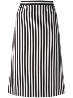 полосатая юбка А-силуэта  Marc Jacobs