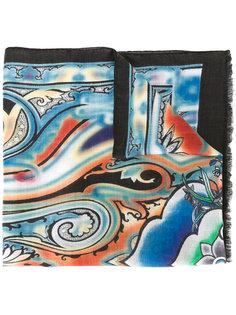 шарф  с принтом пейсли   Etro