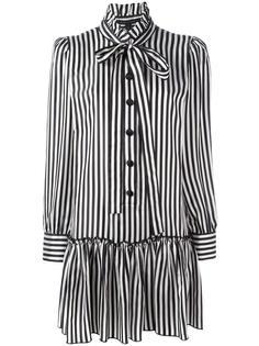 платье-рубашка в полоску Marc Jacobs