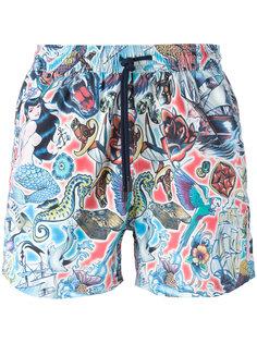 шорты для плавания с принтом Etro