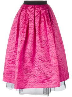пышная юбка с помятым эффектом Marc Jacobs