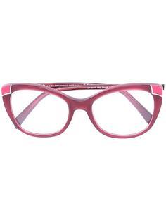 очки с контрастными уголками Emilio Pucci