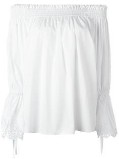 блузка с открытыми плечами Alexander McQueen