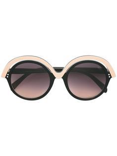 солнцезащитные очки в круглой оправе Emilio Pucci