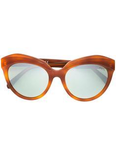большие солнцезащитные очки  Emilio Pucci