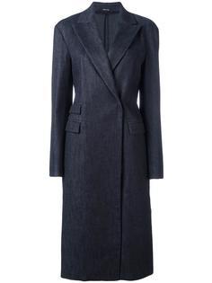 классическое длинное пальто Maison Margiela