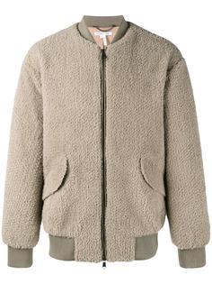 пушистая куртка Helmut Lang