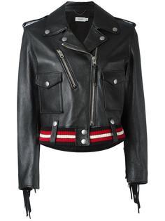 байкерская куртка  Coach