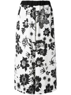 брюки с цветочным рисунком Antonio Marras