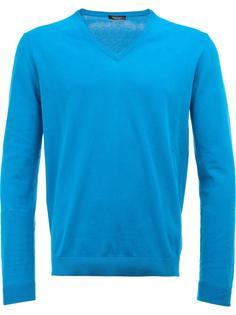 свитер с V-образным вырезом Roberto Collina