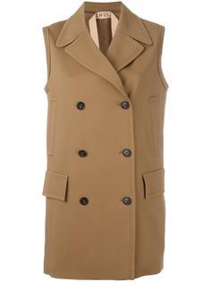пальто без рукавов  Nº21