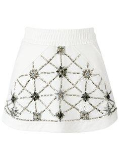 embellished skirt Andrea Bogosian