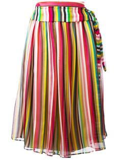 полосатая юбка миди Nº21