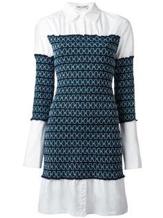 платье-рубашка с присборенной отделкой Opening Ceremony